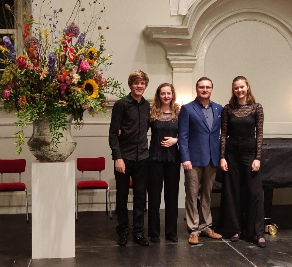 Audax trio met Alexander Pavlovsky